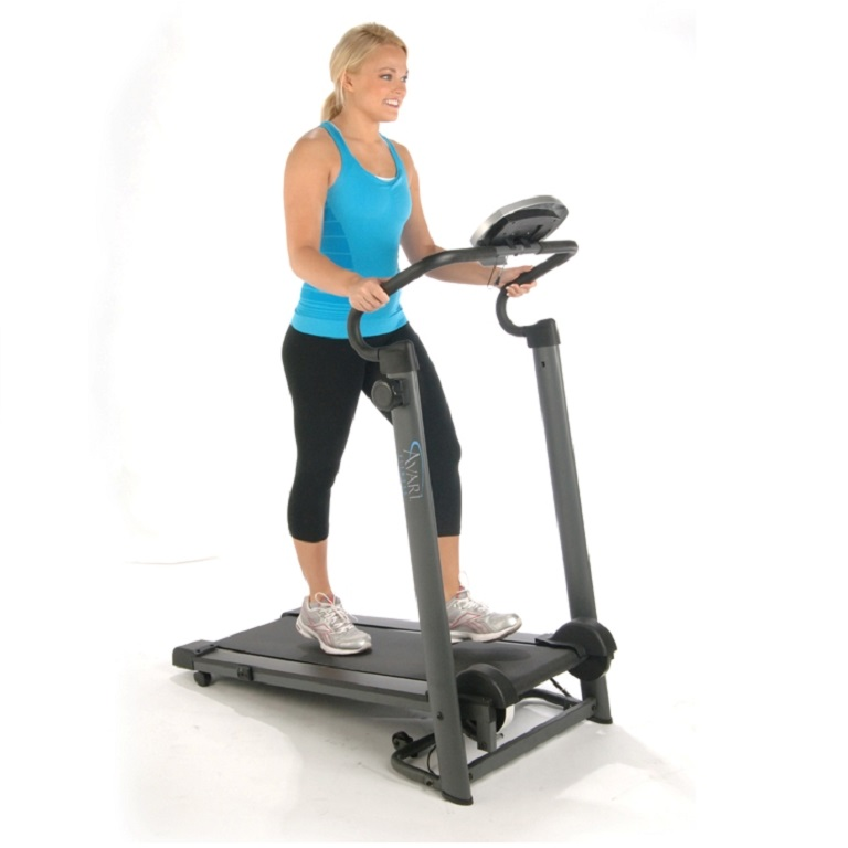Stamina Avari Magnetic Resistance Treadmill  Fits Small Home - Small treadmill for home