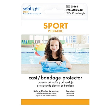Seal Tight Sport Cast Cover Pediatric Waterproof Cast Protection
