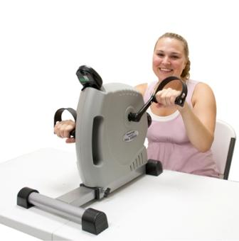 CanDo Magneciser Pedal Exerciser :: versatile unit for improving muscle strength, range-of-motion and coordination
