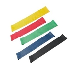 CanDo 15 inch Exercise Band Loops Set of 5