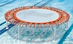 Aqua Creek Round Aquatic Trampoline