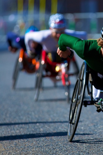 Paralympians prove the ability in disability