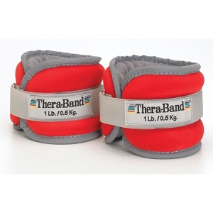TheraBand Comfort Fit Ankle & Wrist Weights 1 Pound - Discontinued