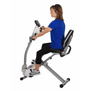 Stamina Recumbent Bike with Arm Cycle
